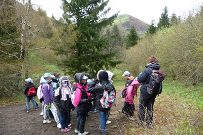 Sortie pédagogique sur le volcanisme au pariou
