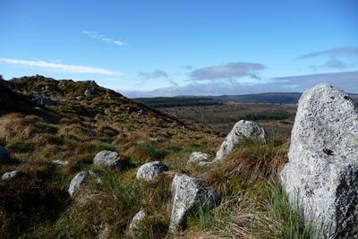 Levé de soleil à la roche gourgon