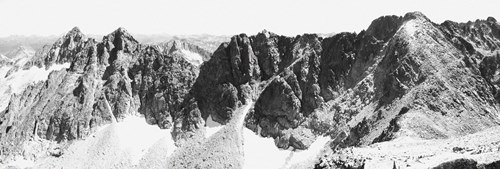 Panorama du besiberri nord, du besiberri intermédiaire et du besiberri sud