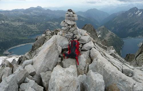 Panorama depuis le sommet du Pic de Néouvielle