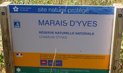 La réserve naturelle d'Yves
