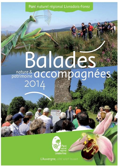 balades nature et patrimoine 2014 parc naturel régional livradois forez