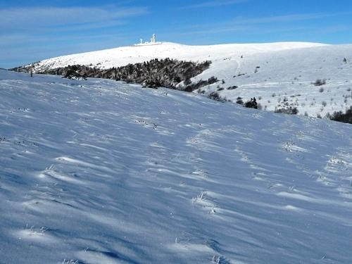 raquettes a neige dans le forez pierre sur haute guide nature randonnee