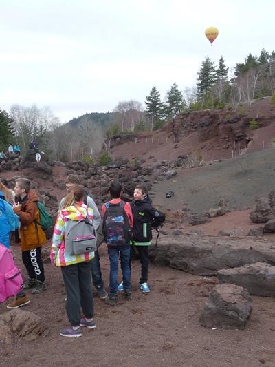 Carrière au pied du volcan du Puy de la Vache