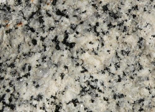 Les différents minéraux du granite