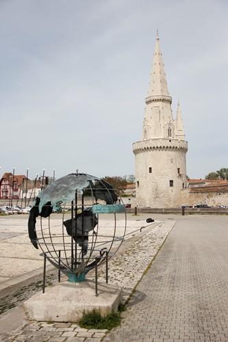 tour de la lanterne et mappemonde