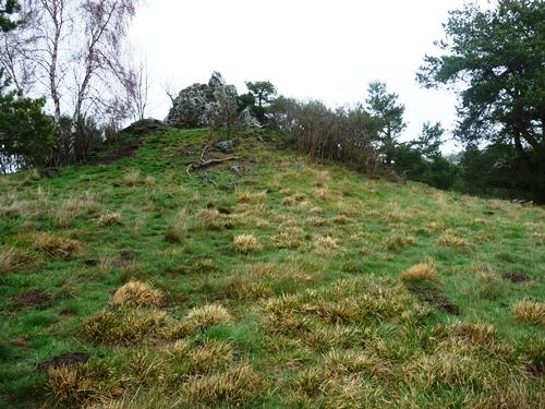 La Roche Merle : un autre site d'observation du champ magnétique