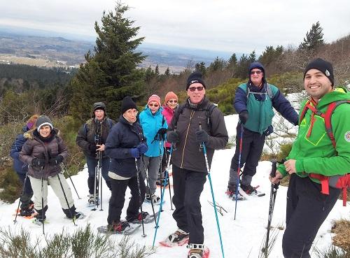 Au sommet du Puy de Chambourguet