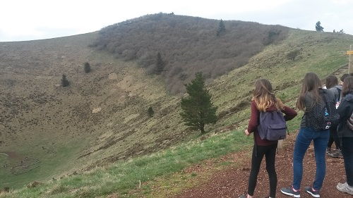 L'époustouflant cratère du Pariou