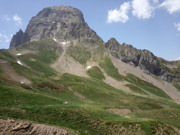 Face nord est du Pic du Midi