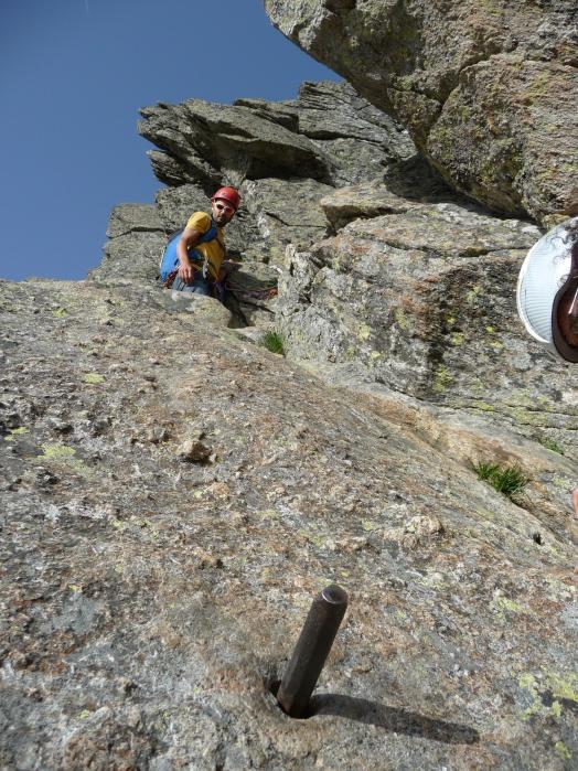 cheminée du Pic du Midi d'Ossau